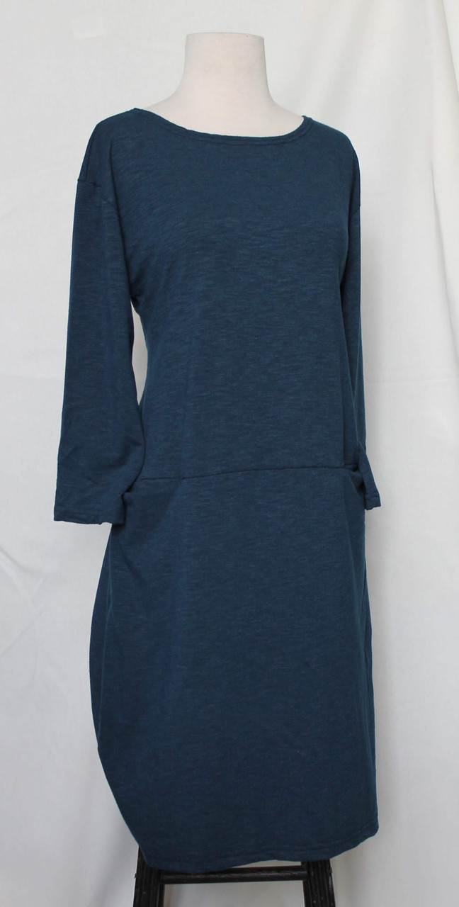 Eliana Dress in Midnight