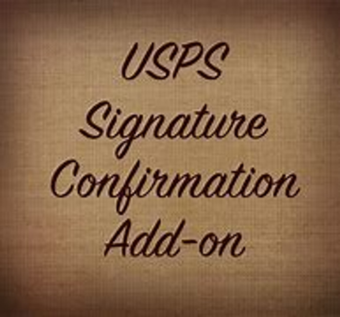Signature Confirmation (Shipping Surcharge)