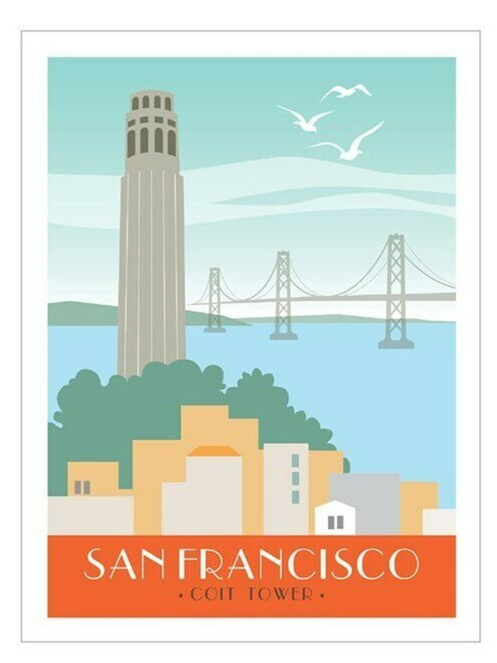 "Poster - Coit Tower - 18""x24"""