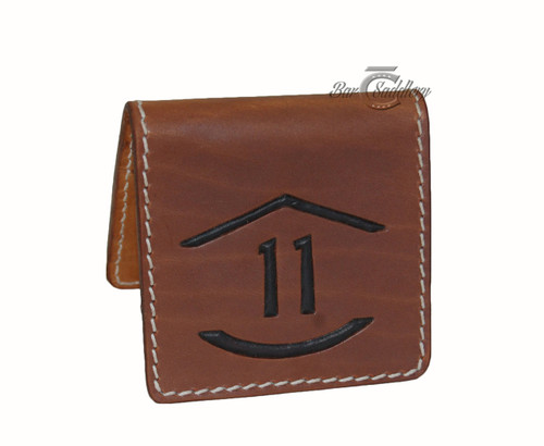 Card wallet with custom brand