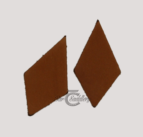Diamond shape leather earring blanks.  Die cut from vegetable tanned leather for tooling, dyeing and painting.