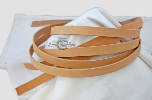 Strap Hermann Oak premium vegetable tanned leather sourced and tanned in the USA