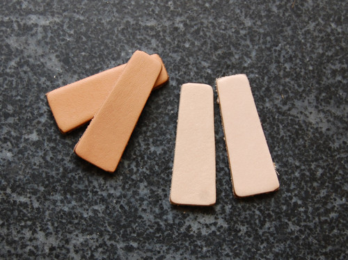 Trapezoid Earring Blanks (pairs)