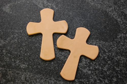 Die cut saddle cross charm DIY