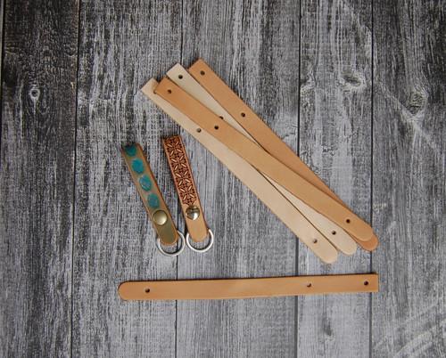 Snap on keychain blank for belt, purse etc.