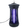 U.S. Solid 6W Electric Bug Zapper Mosquito Killer for indoor Wide Coverage Protection, Flying Pests Trap, 1200V High Voltage Electric Grid, Black