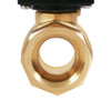 """Motorized Ball Valve - 3/4"""" Brass Electric Ball Valve with 3 Indicator Lights - 2 Wire Auto Return, N/O, 9-36V AC/DC, Standard Port by U.S. Solid"""