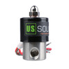 "U.S. Solid Electric Solenoid Valve- 1/4"" 24V AC Solenoid Valve Stainless Steel Body Normally Closed, VITON SEAL"