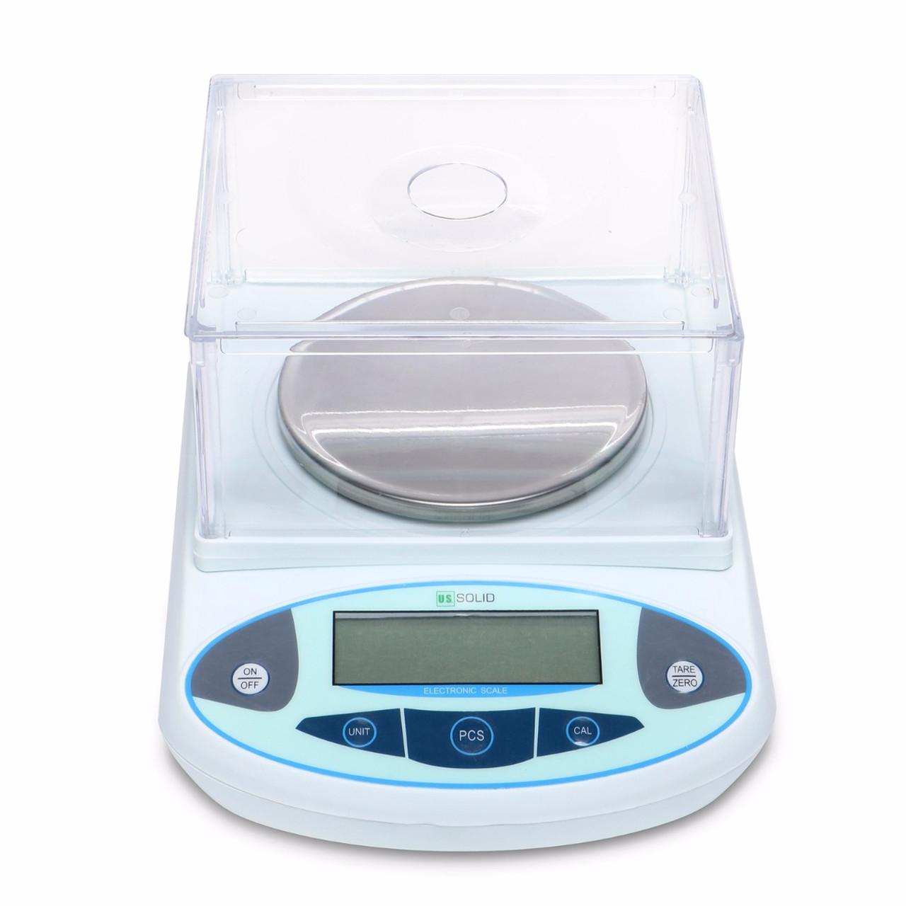 U.S. Solid 300g x 0.01 g Lab Scale, 0.01 g Digital Analytical Balance