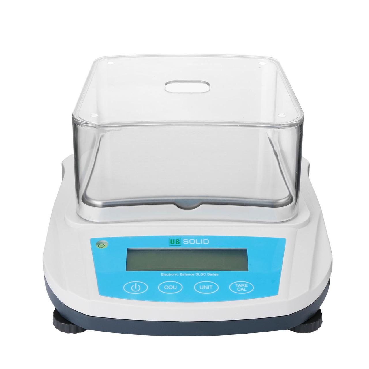 U.S. Solid Precision Balance Digital Lab Scale 200gx 0.01g, RS232 Interface