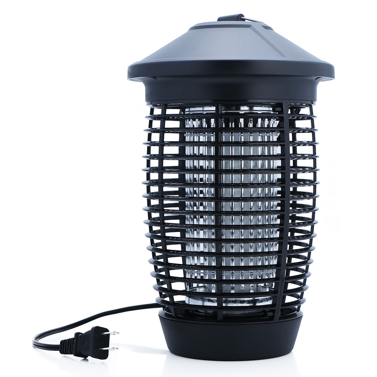U.S. Solid 20W Electric Bug Zapper Mosquito Killer for indoor and outdoor, Flying Pests Trap, 4000V High Voltage Electric Grid, Black