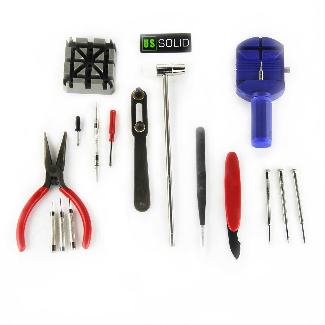 16 Piece Watch Repair Kit