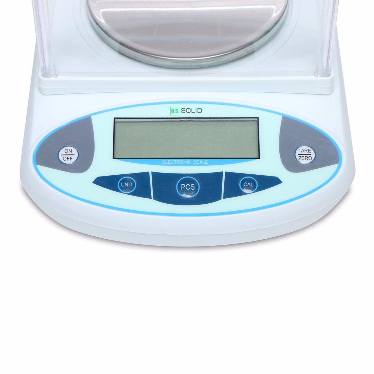 U.S. Solid 3000g x 0.01 g Lab Scale, 0.01 g Digital Analytical Balance