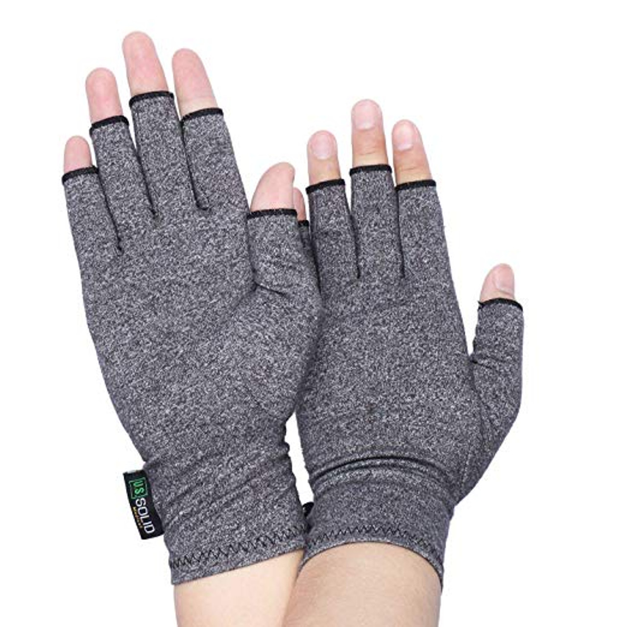 "Compression Gloves- Relieve Arthritis Pain, Large(Dia. of palm > 4"")"