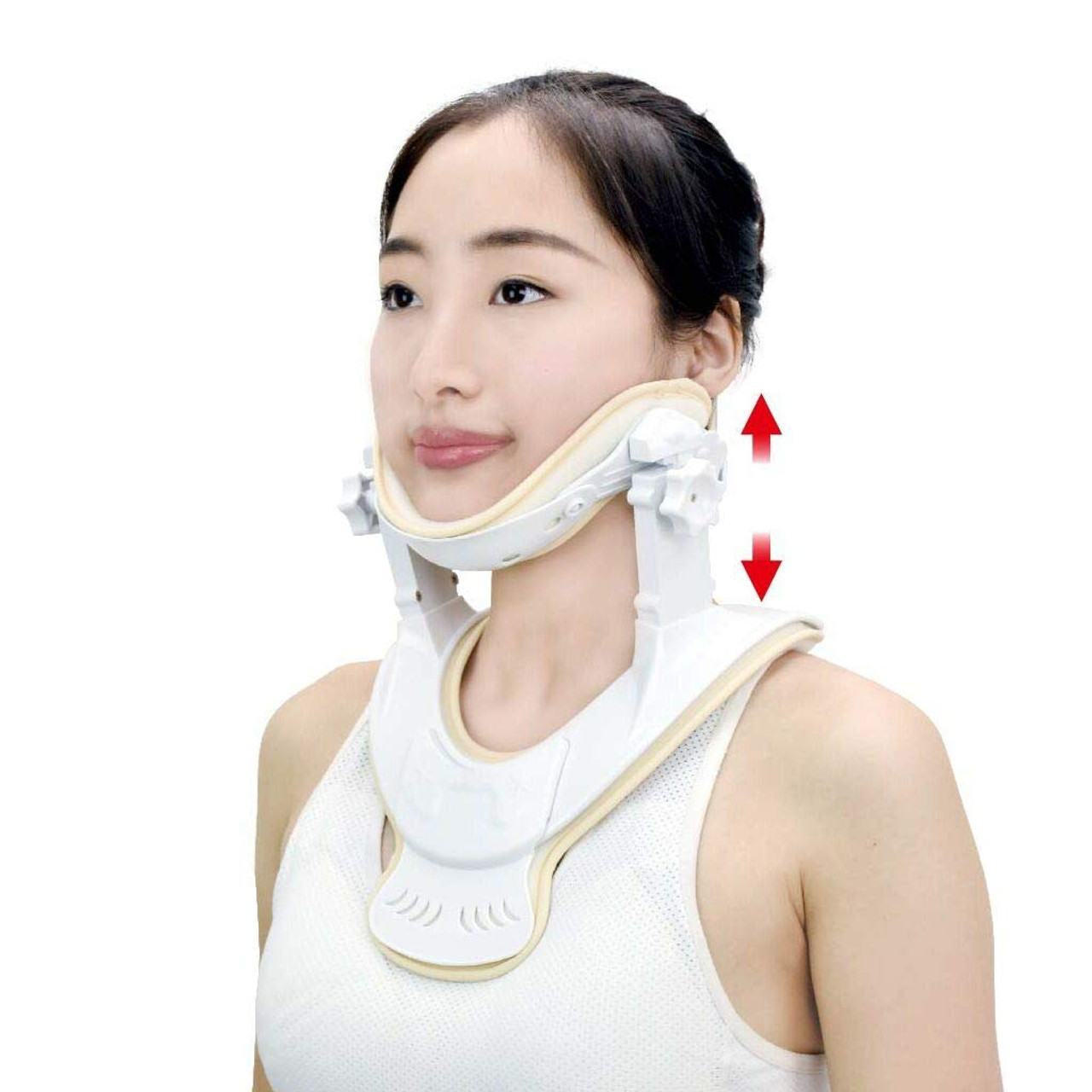 Cervical Neck Traction Device- Cervical Traction Unit for Home Use and Decompression(L/XL)
