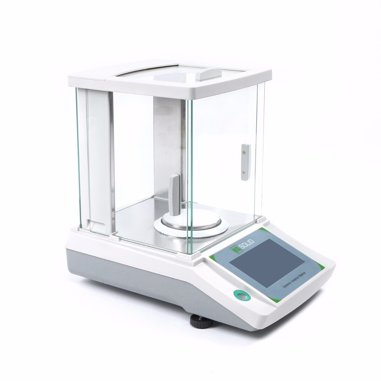 0.1mg Mobile-controlled Analytical Balance, 0.1g x 120g Bluetooth-connected Lab Precision Balance, Touch Screen