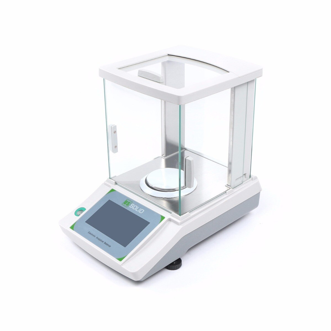 0.1mg Mobile-controlled Analytical Balance, 0.0001g x 200g Bluetooth-connected Lab Precision Balance, Touch Screen