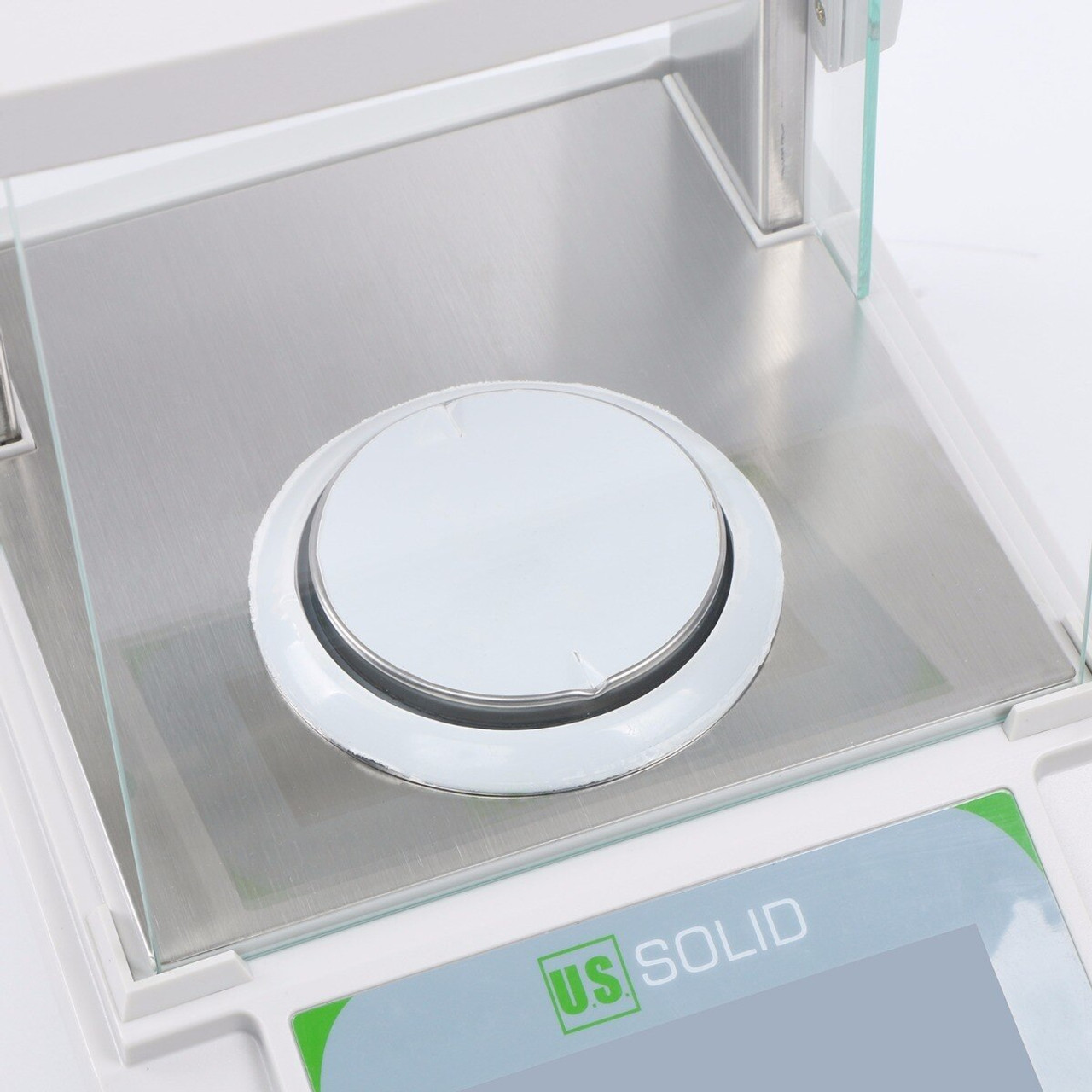 0.1mg Mobile-controlled Analytical Balance, 0.1g x 200g Bluetooth-connected Lab Precision Balance, Touch Screen