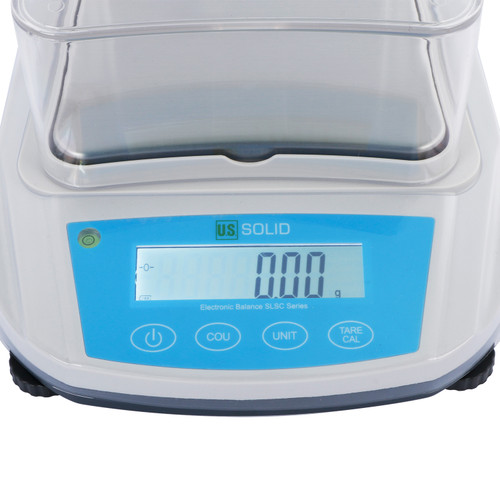 U.S. Solid Precision Balance Digital Lab Scale 300gx 0.01g, RS232 Interface