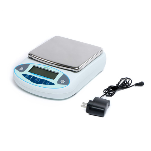 5000g x 0.1 g Lab Scale, 0.1 g Digital Analytical Balance