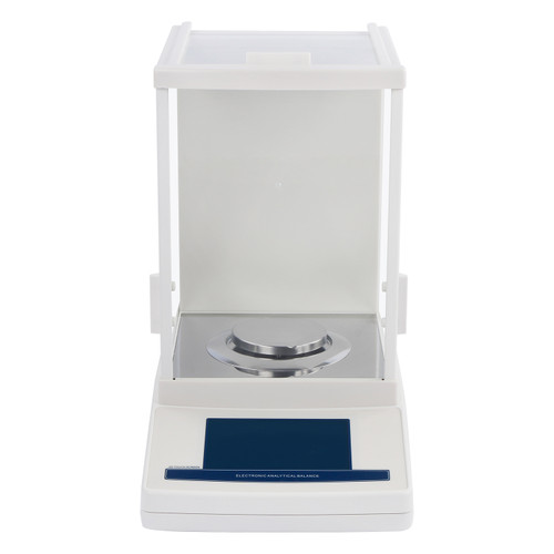 U.S. Solid 0.1mg Analytical Balance, Automatic Internal Calibration Precision Lab Balance, 220g x 0.0001g , Electromagnetic Force Sensor, Touch-screen