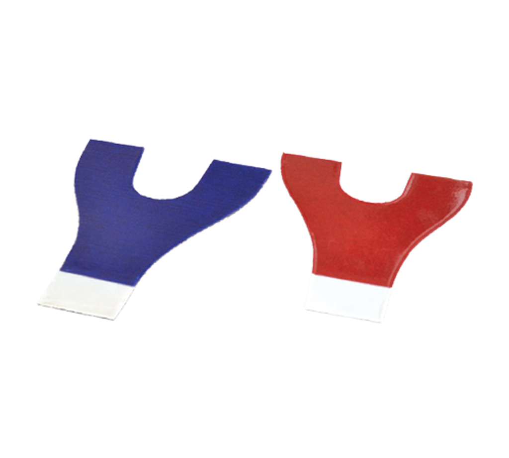 Articulating Paper Horseshoe Red/Blue 144/pk