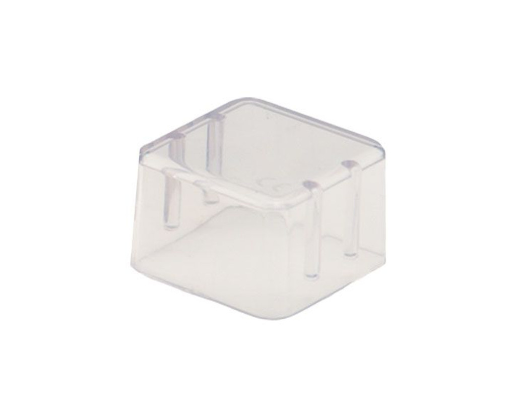 Bur Block Cover Small Clear For 8 Hole Ea