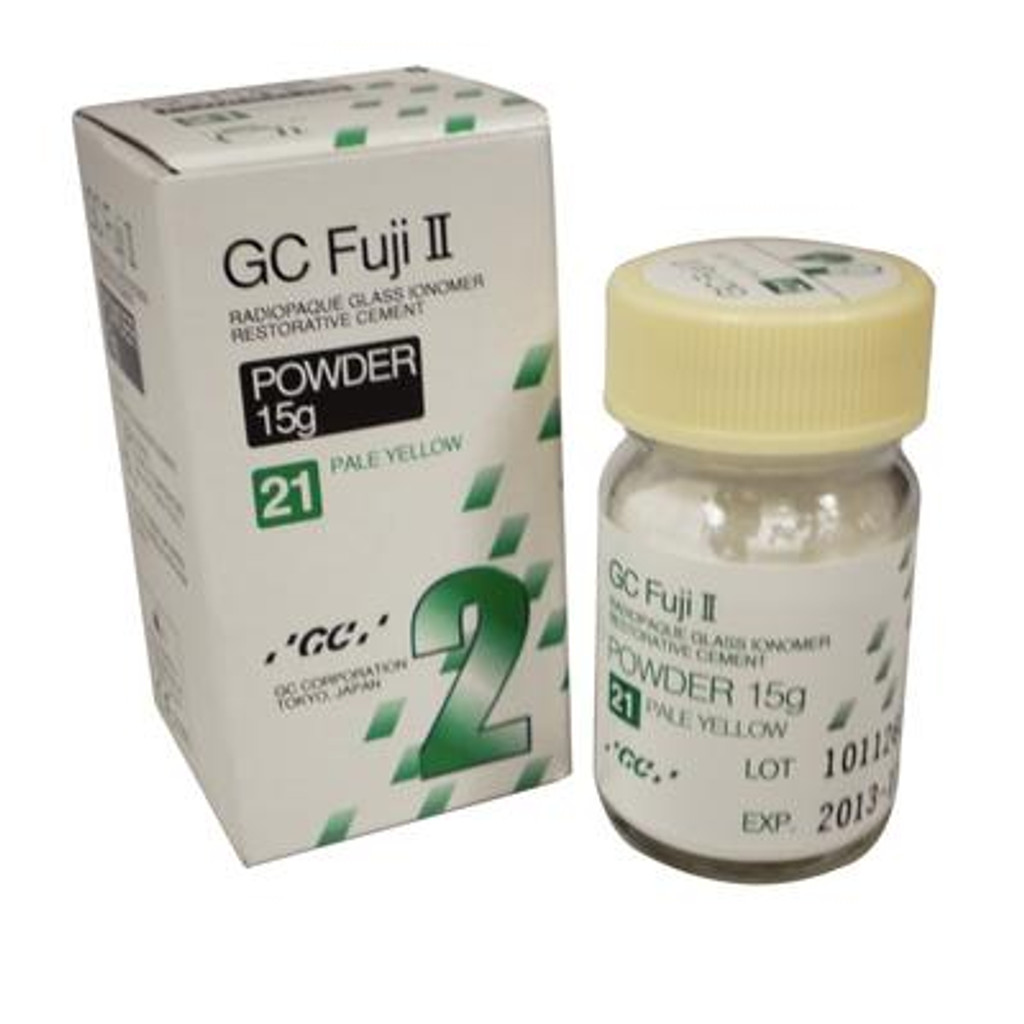 GC Fuji II® Glass Ionomer Restorative – Powder Refill, 15 g