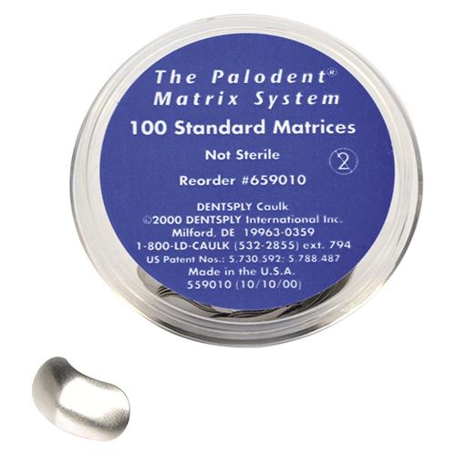 Palodent Standard Matrices Refill - 100pk