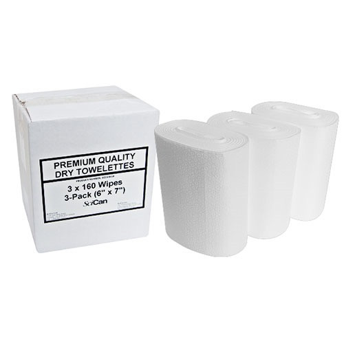 Bundle of Optim 33TB Disinfectant Gallon + 480 Dry Towels.
