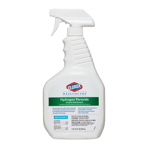 Clorox Hydrogen Peroxide Disinfecting Spray + 2 Rolls of 85 Towels
