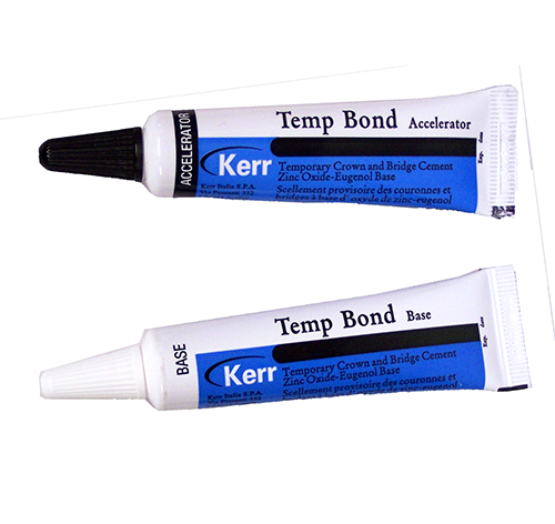 Tempbond Temporary Crown And Bridge Cement Original Tube