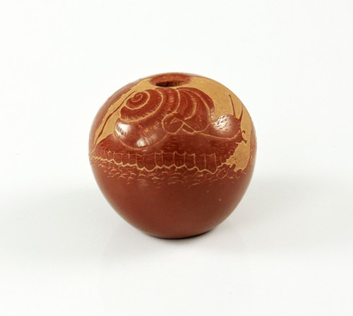 Joseph Lonewolf Sgrafitto Pottery Snail Published