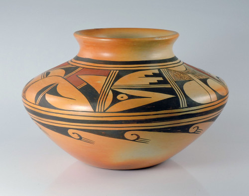 Hopi Pottery Jar by Verna Nahee