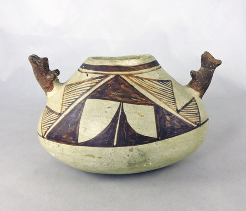 Hopi Polacca Ware Pottery Figural Bowl