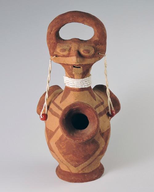 Mojave Pottery Effigy Vessel