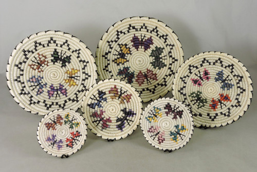 Set of 6 Butterfly Baskets Rose Ann Whiskers
