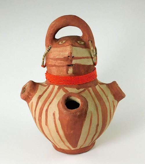 Annie Fields Mohave Effigy Pot