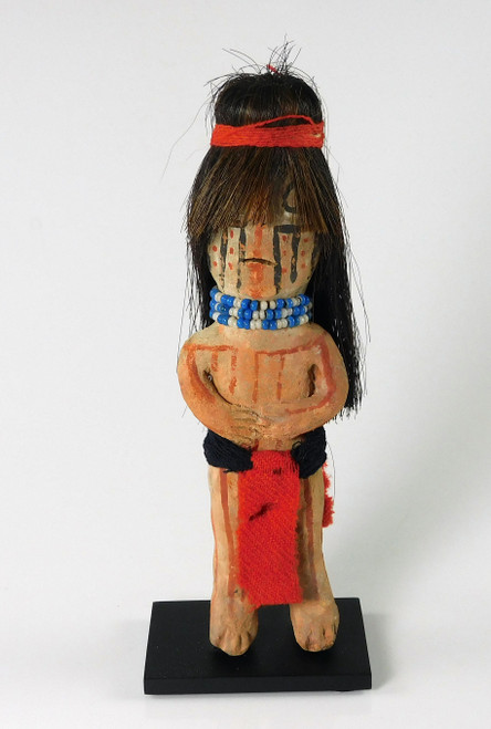 Antique Mohave Indian Pottery Male Figure