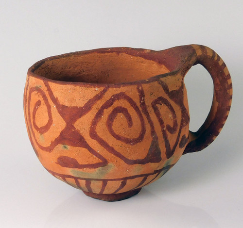 Mohave Indian Pottery Coffee Cup