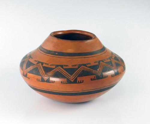 Nampeyo Hopi Red Pottery Jar