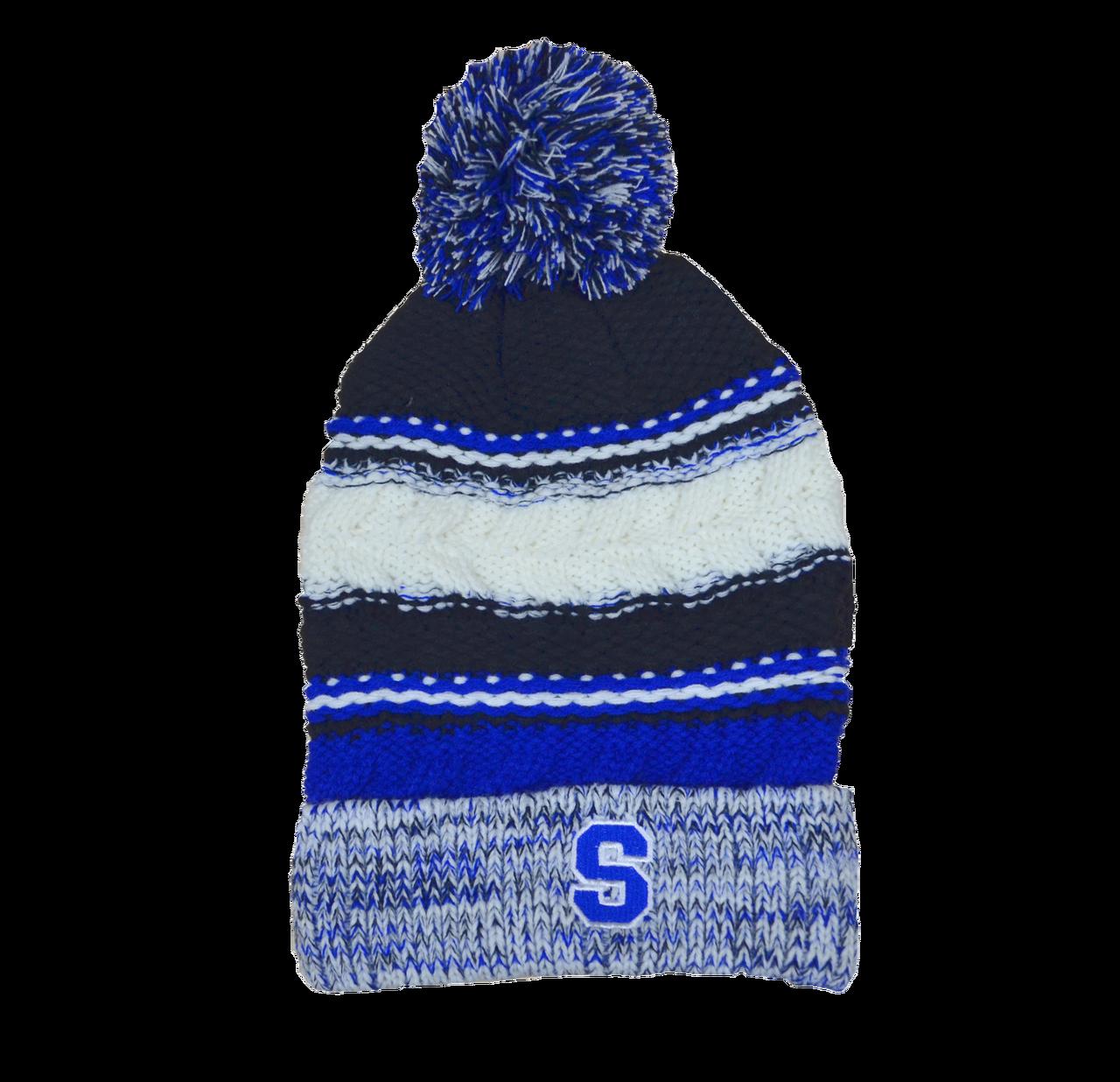fb631952b Southington Softball Slouchy Pom Pom Hat