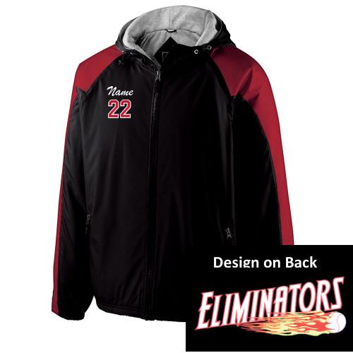 Eliminators Hooded All Season Jacket - Red Sleeve