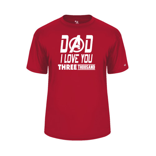 Dad Love You 3000 Red T-Shirt