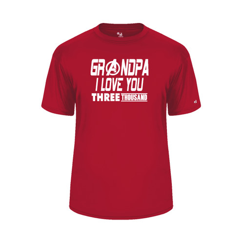 Grandpa Love You 3000 Red T-Shirt