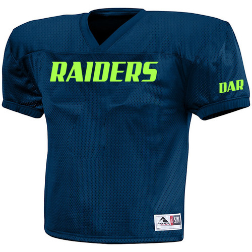 8U Meriden Raiders Football Practice Jersey