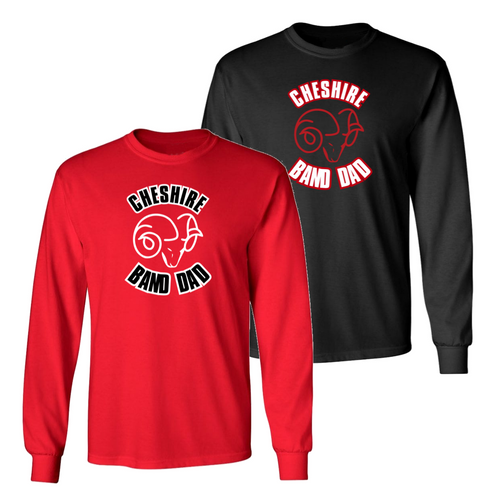 Cheshire Band Dad Long Sleeve