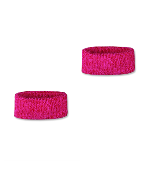 Hot Pink Wrist Bands