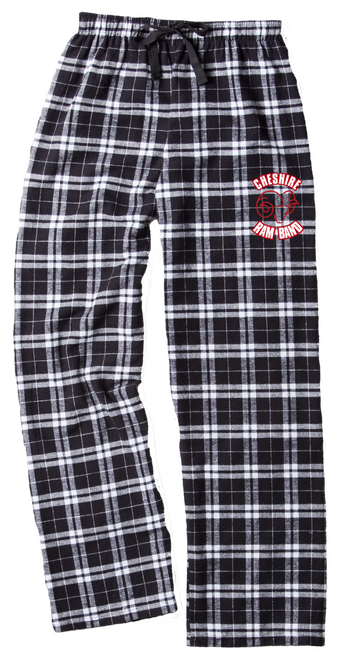 Cheshire Ram Band Flannel Pant w/ Hip Logo