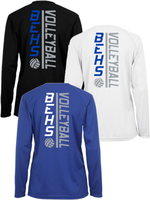 BEHS Ladies Wicking Long Sleeve